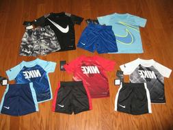 Nike 2 Piece T-Shirt & Shorts Outfit Set Boys 2T/3T/4T/ 4/ 5