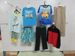 9 BOYS 6-7 SMALL YOUTH CLOTHES LOT PANT DOCKERS LANDS'END JO