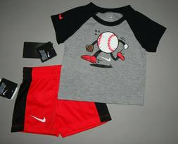 Baby boy clothes, 12 months, Nike 2 piece set/SEE DETAILS ON