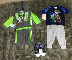 Baby Boy Fall Clothing Lot 24 Month Brand NWT 5 Pieces 2 Out