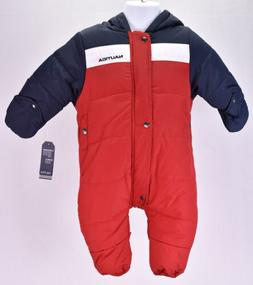 Baby Boy's Nautica N020056Q Colorblock Snowsuit