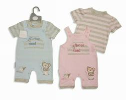 Nursery Time Baby Clothes Set for Boys 2 pieces 100% Cotton