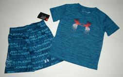 Baby/Toddler boy clothes, 3T, Under Armour Heat Gear Petrol