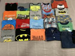 Baby/Toddler Boys 2T Mixed Clothing Lot 22 Pieces- T-shirts,