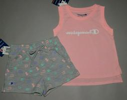 Baby/Toddler girl clothes, 2T, Champion 2 piece set/ CLEARAN