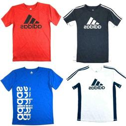 adidas Big Boys Kids Youth Short Sleeve Shirt T-Shirt Tee Mu