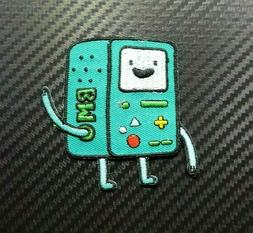 BMO CARTOON GAME BOY KIDS TOYS FUNNY BADGE Embroidered Patch