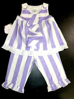 Candy Bean Boutique Lavender Lollipop Outfit Girls Size 7 Sl