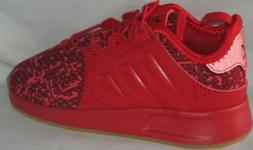 BOY'S ADIDAS ORIGINALS X_PLR EL I SCARLE/SCARLE/CBURGU SHOES