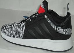BOY'S ADIDAS ORIGINALS X_PLR EL I BLACK/WHITE/RED SHOES TODD