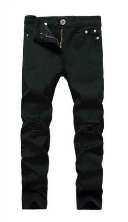FREDD MARSHALL Boy's Skinny Fit Ripped Destroyed Distressed