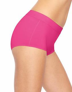 Hanes Boy Short 3-Pack Panties Women X-Temp Constant Comfort