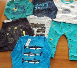 Old Navy Boys 18-24 MONTH Long Sleeve Shirts 7 PIECE Clothin