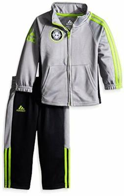 Adidas Boys 2-7 AG5804 adidas Toddler Tricot Jacket and Pant