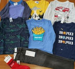 Old Navy Boys 3T Clothing Lot 8 PIECES Shirts Jeans Tops Fal