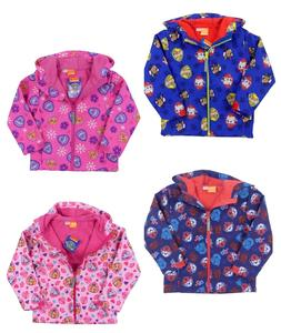 Boys and Girls Paw Patrol Lightweight Jacket Fleece Lining 2