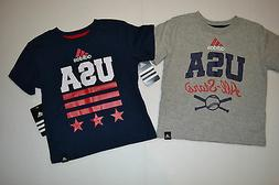 boys and toddler t shirts blue