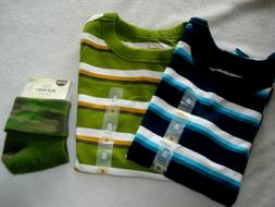Boys Clothes 2 Shirts  And Socks Size 4T