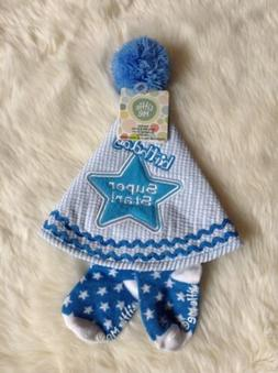 BOYS FIRST BIRTHDAY HAT AND SOCK SET BY LITTLE ME..SO CUTE