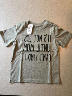 "Boys Size 4T The Children's Place ""It's Not Lost Until"