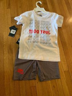 Nike Boys Size 6 2 piece set New With Tags Shorts And T-shir