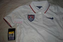 BOYS NIKE SOCCER JERSEY USA WORLD CUP SIZE SMALL DRI FIT