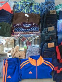 Boys Toddler 18-24mos 2T Clothing Lot 36 Pieces Gap Osh Kosh