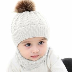 Cap + Scarf 2 Piece Suit Baby Young Children's Clothing Boy