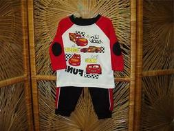 "Disney Baby ""Cars"" Baby Boy 2pc. Set, Size NB through 24M in"