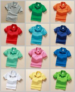 Children Clothing Boys kids Short-sleeved T-shirt School Uni