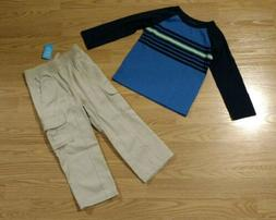 Children's Place Circo Toddler Boy Shirt Pull On Pants 3T Se