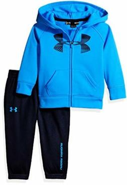 Under Armour Childrens Apparel Baby Boys Hoody Track Set- Se