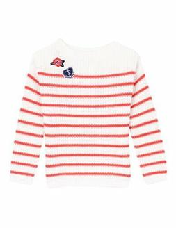Nautica Childrens Apparel Toddler Girls Ribbed Sweater W/ Me