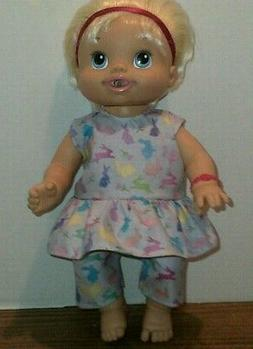 Doll clothes-fits Baby Alive/Baby Doll Girl/Boy-Top & Shorts