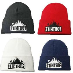 Fortnite Hat Gaming Gift for boys Beanie cap Winter Outdoor
