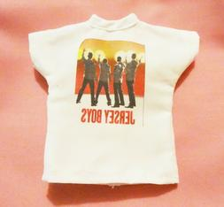 "Fun faux Broadway ""Jersey Boys"" tee for FR, Barbie, other 12"