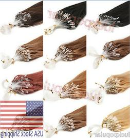 indian remy human hair extensions micro ring