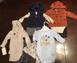 Infant Baby Boy 3 Month Carters Disney Clothes Outfits & Set