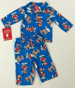 Infant Baby Boy's Rudolph the Red-Nosed Reindeer Christmas P