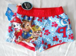 INFANT BOYS SIZE 3-6 MONTHS SWIM SHORTS PAW PATROL CLOTHING
