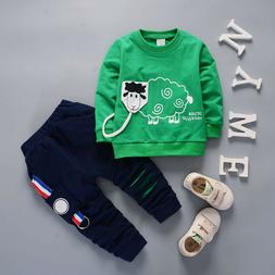 Kids Baby Boys Outfits Clothing Sets Infant Boy Clothes Suit
