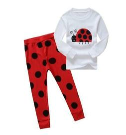 Kids Boys Girls Clothing Pajamas 2Pc Outfits Suits Animal Pr