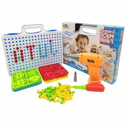 Juta Kids Building Block Games Tool Set For Boys And Girls W