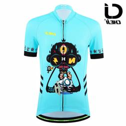 kids children cycling jersey reflective youth boys
