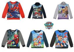 Kids Girls Boys Paw Patrol Turtle Neck and Spider-Man Long S