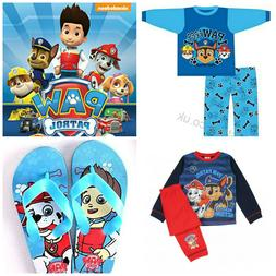 Kids Paw Patrol Boys Girls Clothes Pjs Pyjamas Sleepwear  Fl