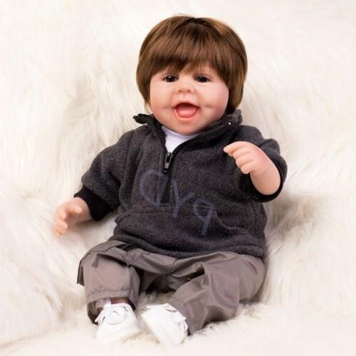 """16"""" Realistic Baby Soft Silicone Newborn Gifts"""
