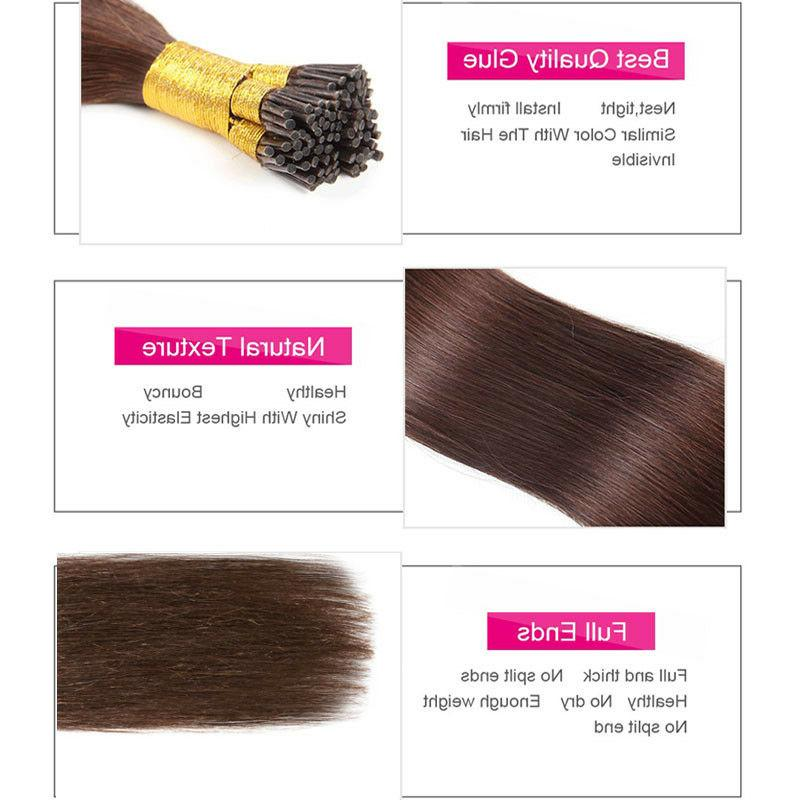 200 I Hair 100g Remy Human Hair Extensions Micro Ring