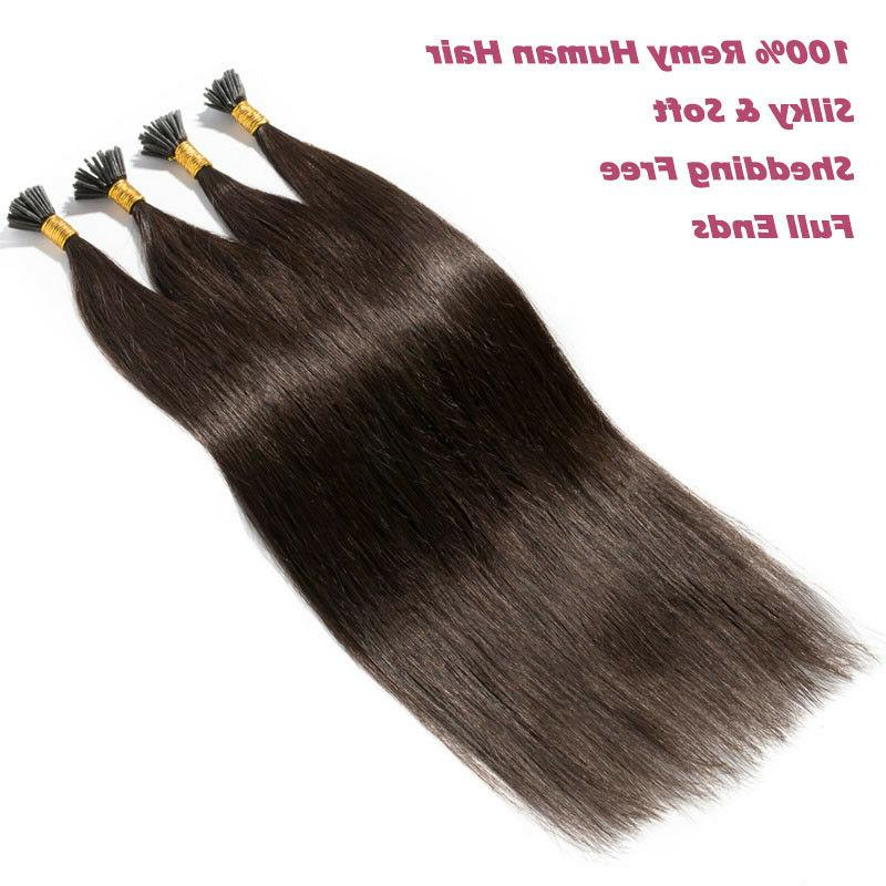 200 Strands I Hair Remy Human Extensions Micro Ring