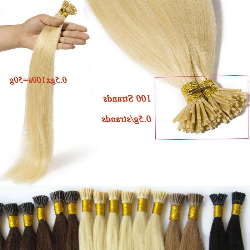 200 Strands Hair 100g Remy Micro Ring